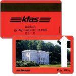 The Phonecard Shop: Denmark, KTAS - Marienlyst Castle, red reverse, 20 kr