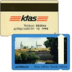 The Phonecard Shop: KTAS - Kronborg Castle, white reverse, 100 kr