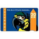 The Phonecard Shop: KTAS - Parrot, type 2, 9.93, 20 kr