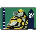 The Phonecard Shop: Denmark, KTAS - Coins, 11.91, 50 kr