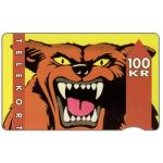 The Phonecard Shop: KTAS - Wolf, 11.91, 100 kr