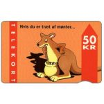 The Phonecard Shop: KTAS - Kangaroo, 9.93, 50 kr