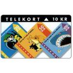 The Phonecard Shop: Denmark, KTAS - New Definitive Phonecards, 10 kr