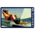 The Phonecard Shop: Denmark, KTAS - Olympic Games, Barcelona 1992, Danish Medals - Sailing 2, 20 kr