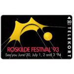 The Phonecard Shop: KTAS - Roskilde Festival '93, 20 kr