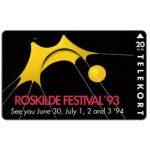 The Phonecard Shop: Denmark, KTAS - Roskilde Festival '93, 20 kr
