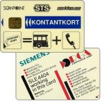 The Phonecard Shop: KTAS - Kontantkort - Multifunctional card, with ORGA logo on back, 50 kr