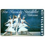 The Phonecard Shop: Denmark, Tele Sønderjylland - Russian State Ballet, 20 kr