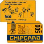 Phonecard for sale: Chipcard, Telephoning People, 500 units