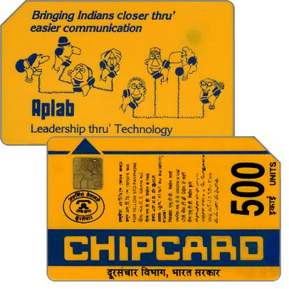 The Phonecard Shop: Chipcard, Telephoning People, 500 units