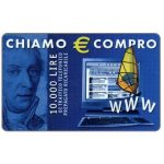 The Phonecard Shop: Italy, Albacom - Chiamo € Compro, 10.000 lire