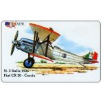 The Phonecard Shop: Italy, ATW - WW2 Planes n.2, Fiat CR 20