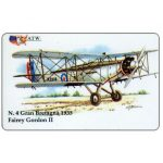 The Phonecard Shop: ATW - WW2 Planes n.4, Fairey Gordon II