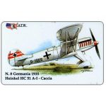 The Phonecard Shop: ATW - WW2 Planes n.8, Heinkel HC 51 A-I
