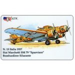 "The Phonecard Shop: ATW - WW2 Planes n.15, Siai Marchetti SM79 ""Sparviero"""