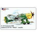 "The Phonecard Shop: Italy, ATW - WW2 Planes n.18, Junkers JU.87 B-1 ""Stuka"""