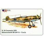 The Phonecard Shop: Italy, ATW - WW2 Planes n.26, Messerschmitt BF.109 E-1