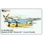 "The Phonecard Shop: Italy, ATW - WW2 Planes n.38, Ilyushin II-2M3 ""Sturmovik"""