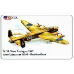 The Phonecard Shop: Italy, ATW - WW2 Planes n.39, Avro Lancaster Mk-I