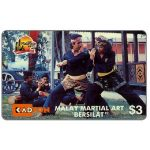 The Phonecard Shop: Malaysia, Kadfon - Malay Martial Art, 6MSTH, $3
