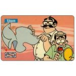 The Phonecard Shop: Uniphonekad - Nan's Comics, Discount haircut, 24MSAA, $10