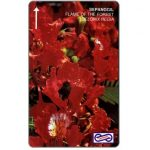 The Phonecard Shop: Uniphonekad - Malaysian Flowers, Flame of the Forest, 48MSAA, $5