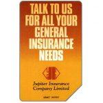 The Phonecard Shop: Pakistan, Telips, Jupiter Insurance, Rs100
