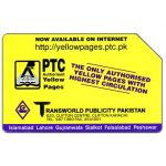 The Phonecard Shop: Telips, PTC Yellow Pages, Rs100