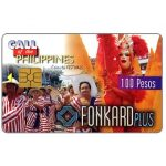 The Phonecard Shop: Philippines, PLDT - Colorful Festivals, exp. 9.30.99, 100 Pesos