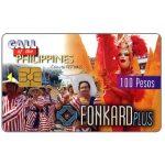 The Phonecard Shop: Philippines, PLDT - Colorful Festivals, exp. 9.30.99, 100 Pesos