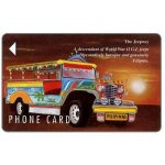 Phonecard for sale: Eastern Telecom - The Jeepney, 3PETA