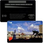 The Phonecard Shop: Singapore, Raffles Place, no code, $10