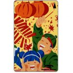 The Phonecard Shop: Singapore, Lunar New Year 1991, Puzzle 1/4, 13SIGA, $10