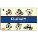 Phonecard for sale: Teleview, Photovideotex Service, 2STEA, $2