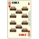 Phonecard for sale: OKI 'Ten', 1SOKE, $5