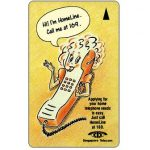 The Phonecard Shop: Singapore, Homeline 169, 1SHLA, $2