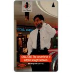 The Phonecard Shop: Callzone, 1SCZA, $5