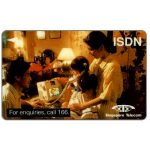The Phonecard Shop: Singapore, ISDN, Call 166, 1SDNA, $5