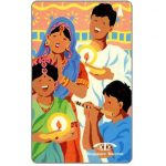 The Phonecard Shop: Singapore, Deepavali 92, Singing, 19SIGB, $10
