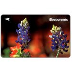 The Phonecard Shop: Flowers, Bluebonnets, 32SIGD, $5