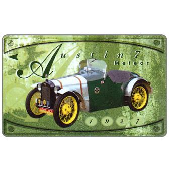 The Phonecard Shop: Singapore, Old Cars, Austin 7 Meteor, 122SIGB, $10