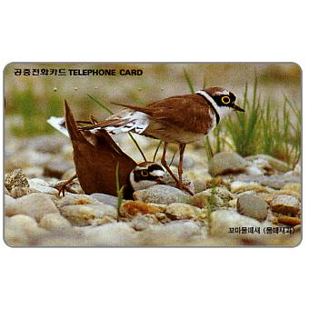 Phonecard for sale: Plovers, 3000 won