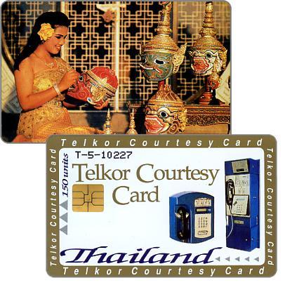 The Phonecard Shop: Thailand, Telkor Courtesy Card, 150 units