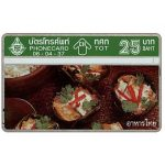 Phonecard for sale: Thai Food, 25 Baht