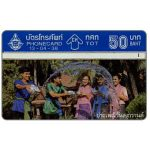 Phonecard for sale: Songkran Festival 1995, 50 Baht