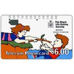The Phonecard Shop: First Issue, Geelong Trial, Royal Life Saving Society, Reach to rescue, $6.00