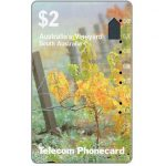 The Phonecard Shop: South Australia, Vineyard (code T2C2-1), $2