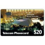 The Phonecard Shop: Australia, South Australia, Adelaide (code T2C2-6), $20