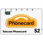 The Phonecard Shop: Australia, Generic (code GC2-6, $2.00 scale on card), $2