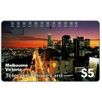 The Phonecard Shop: Australia, Victoria, Melbourne (code T4C1), $5